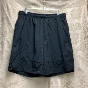 Nike Running Shorts Black Large EUC